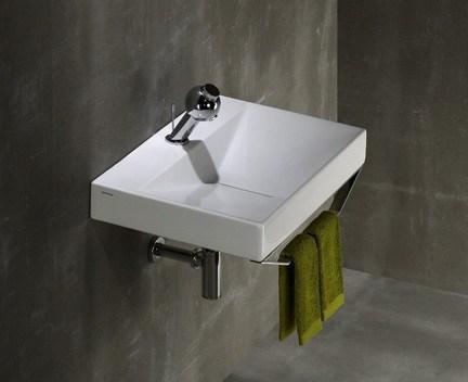 aufsatzwaschtisch oder h ngend flux 65 mit der ffnung f r. Black Bedroom Furniture Sets. Home Design Ideas