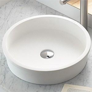 Waschbecken Eingelassen Material Polyresin Perfecto Design