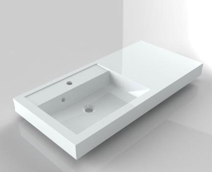 waschbecken bologna 1000x480 mm perfecto design. Black Bedroom Furniture Sets. Home Design Ideas