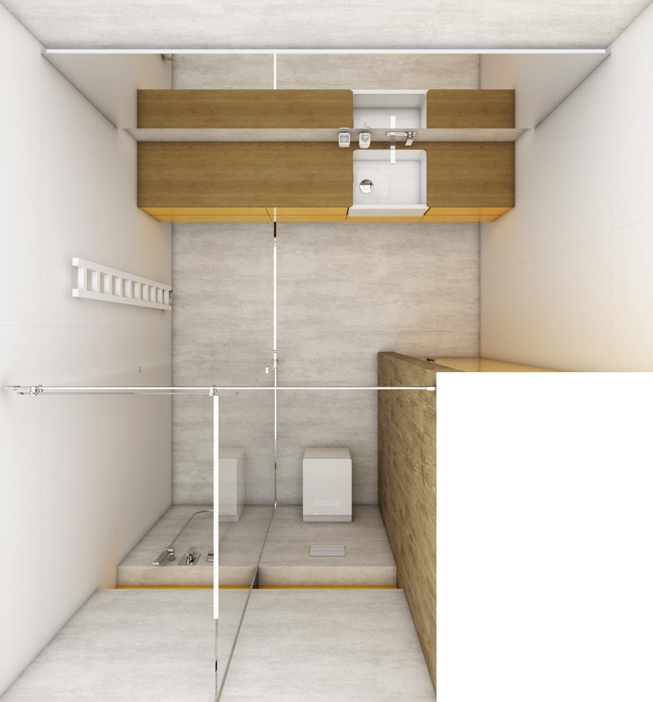 modernes badezimmer modular perfecto design