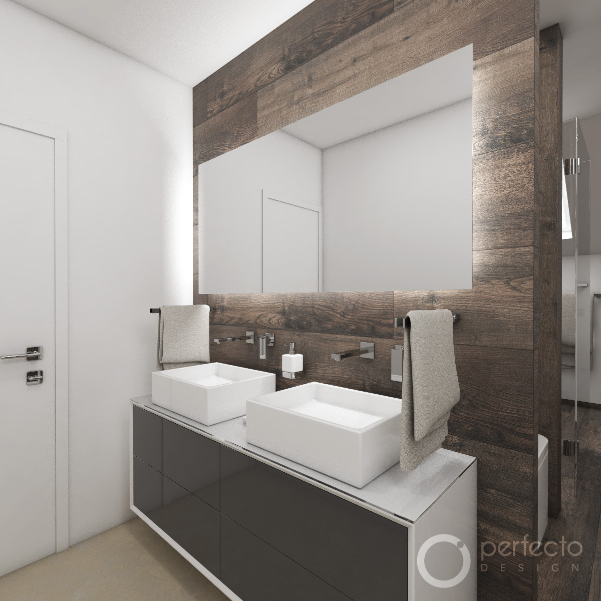 Moderne badezimmer resort perfecto design for Moderne badezimmer beleuchtung