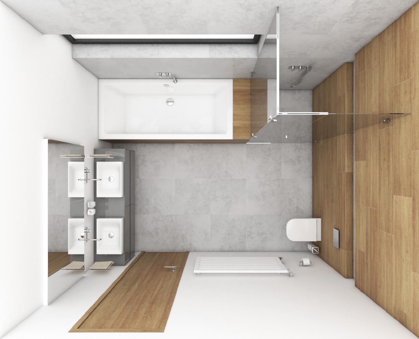 modernes badezimmer gris perfecto design. Black Bedroom Furniture Sets. Home Design Ideas