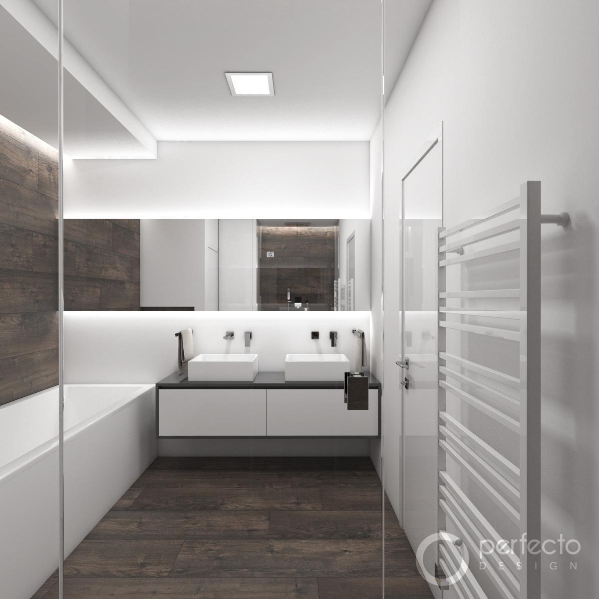 Modernes Badezimmer ICELAND - Visualisierung