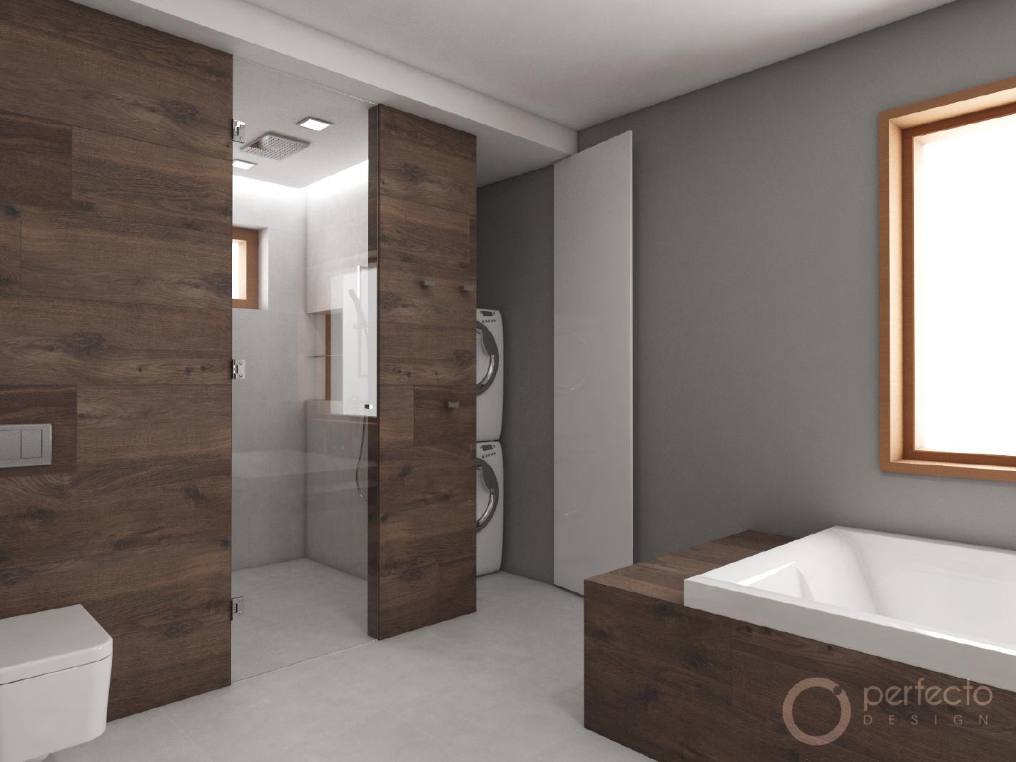 Modernes badezimmer monet visualisierung